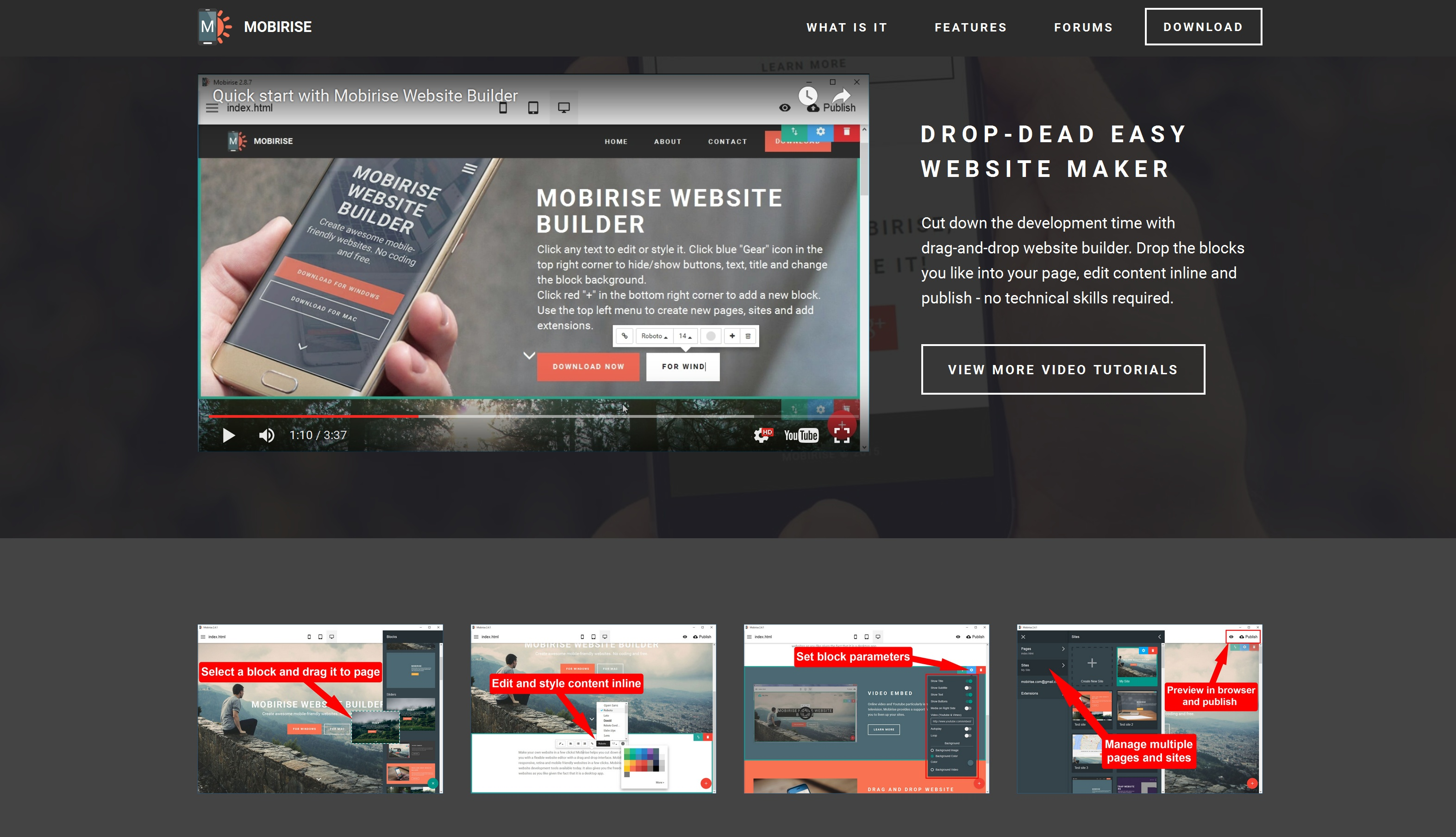 Mobile Website Builder Review
