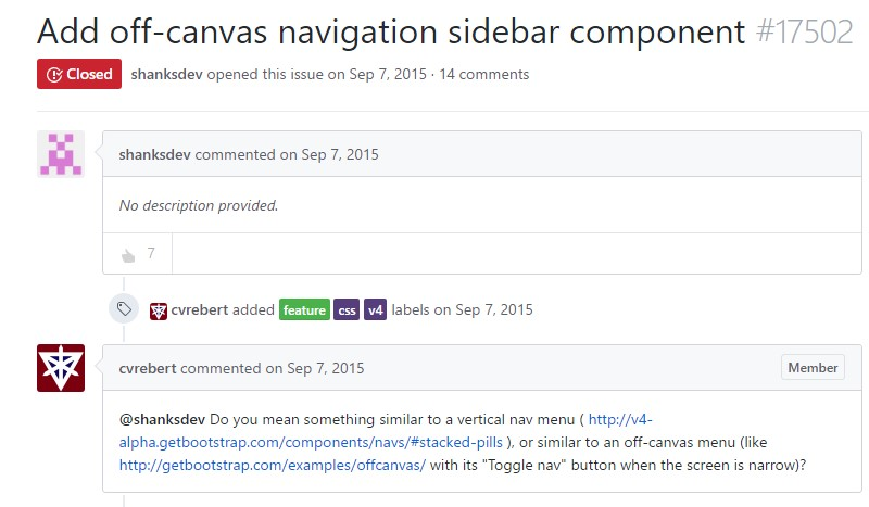 Bootstrap Sidebar Collapse