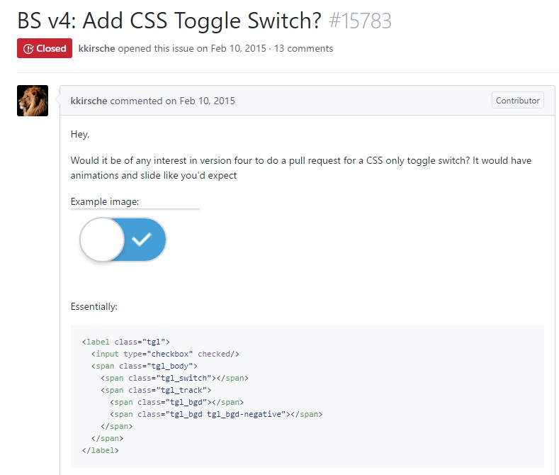 Bootstrap Toggle Button example