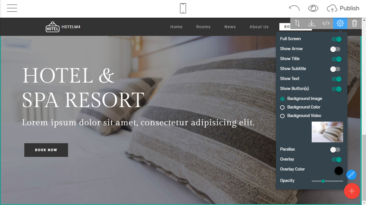 Review: Modern and Sleek Hotel Website Template
