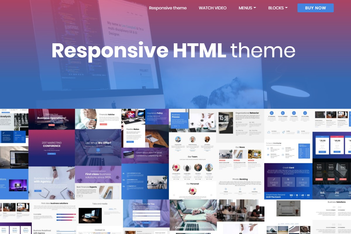 Basic and Simple HTML Templates