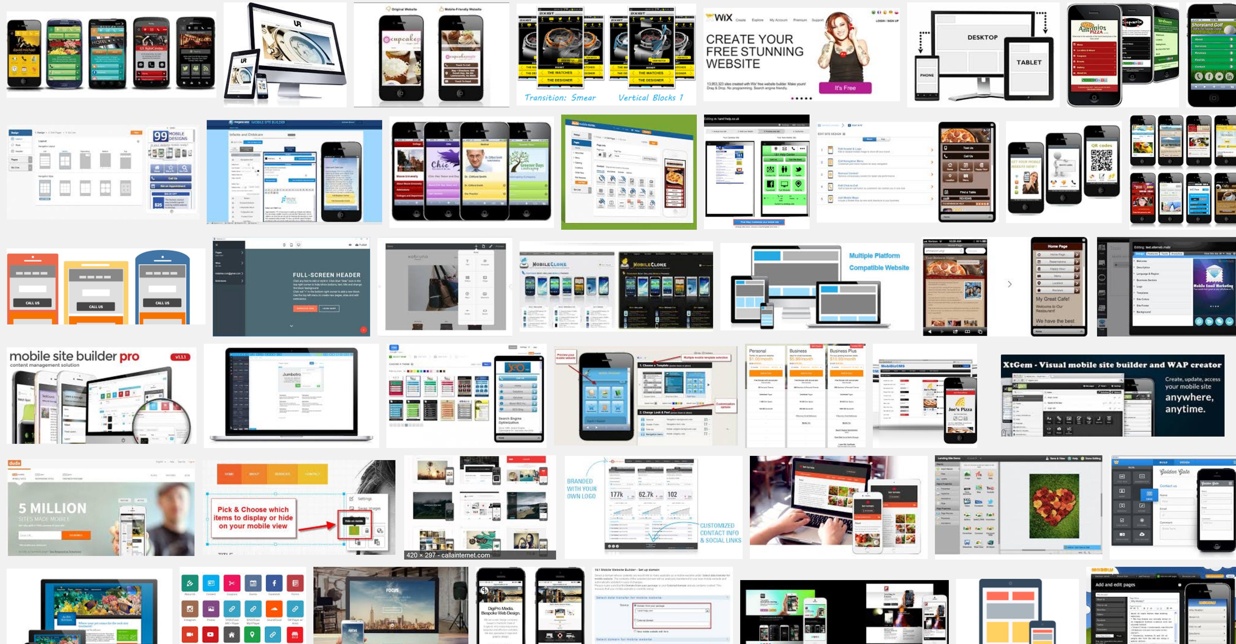 Offline Mobile Website Creator