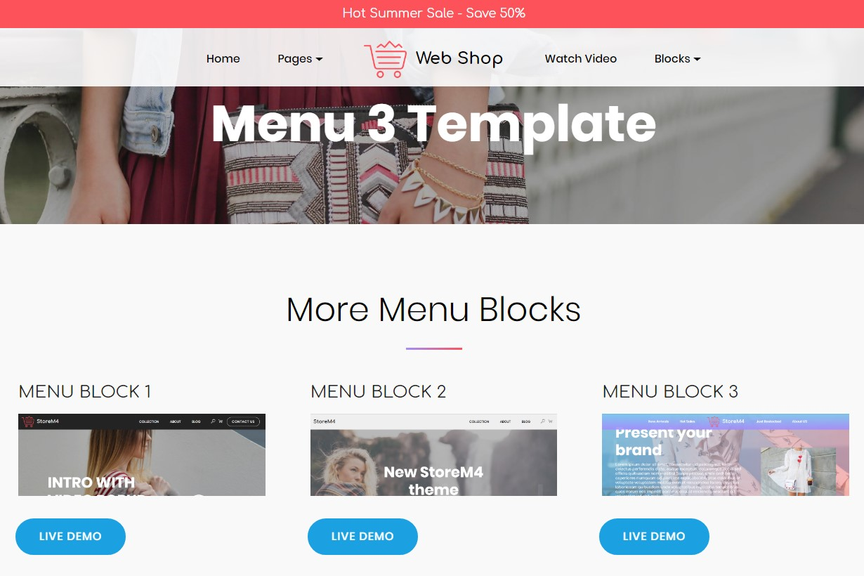 Basic HTML Templates with CSS