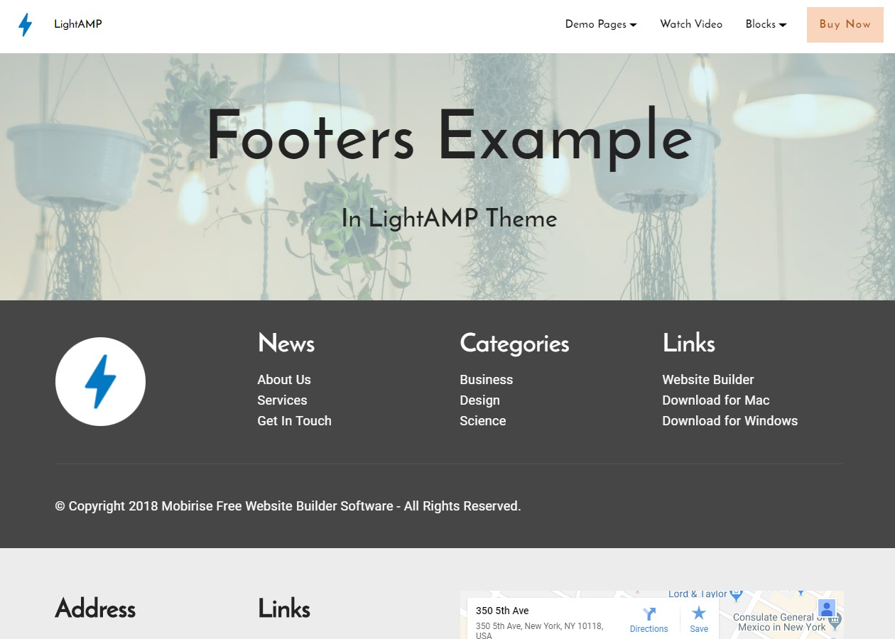 HTML Simple Templates