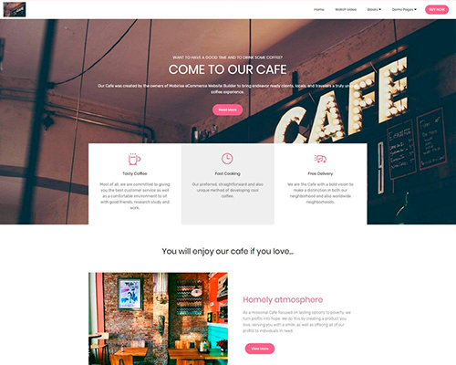 HTML eCommerce Website Template