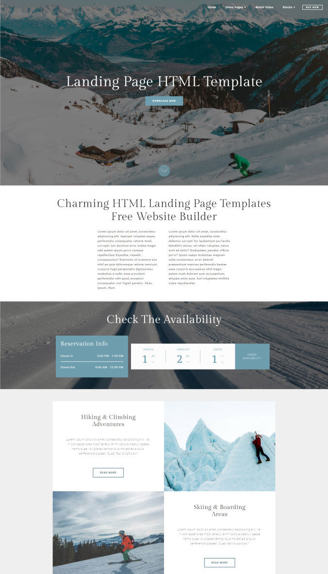 Beautiful Website Templates
