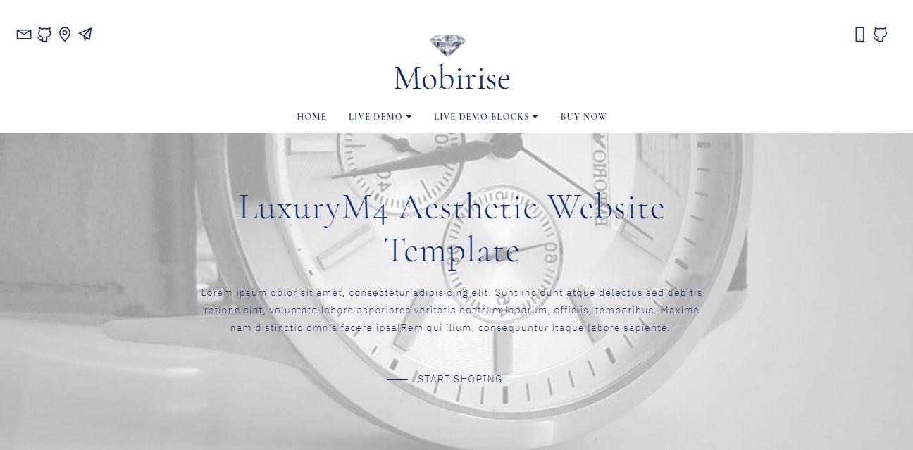 Aesthetic Website Template